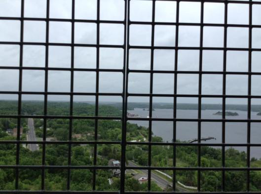 Lookout tower view