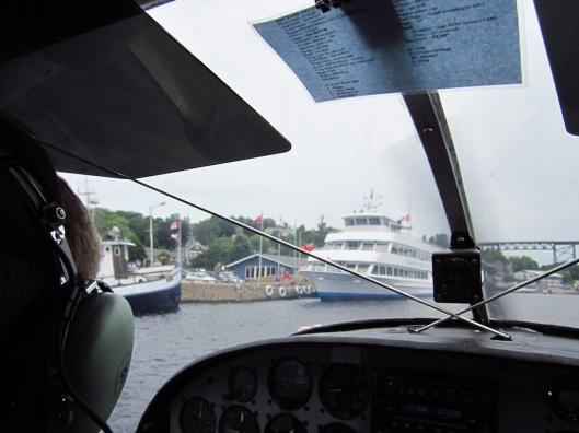 approaching docks