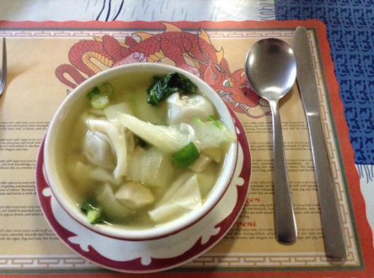 wonton soup bowl