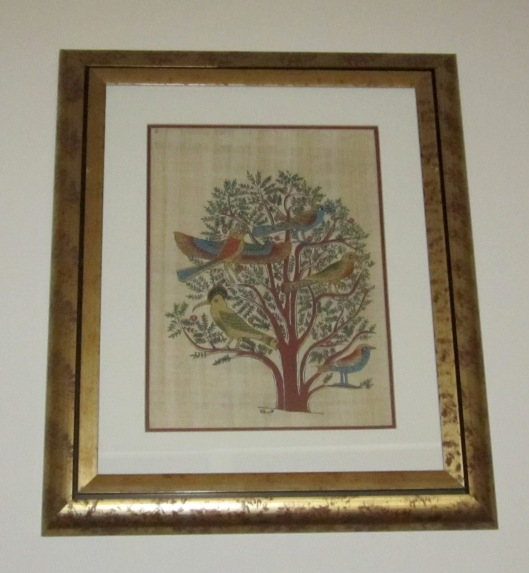 Tree of Life Egyptian print