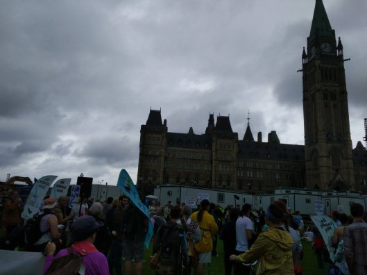 Faith is Peace demonstration and speeches on Parliament Hill June 23 2017